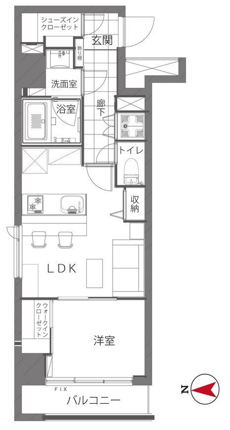 募集中 403号室(1LDK/37.24㎡)4,780万円