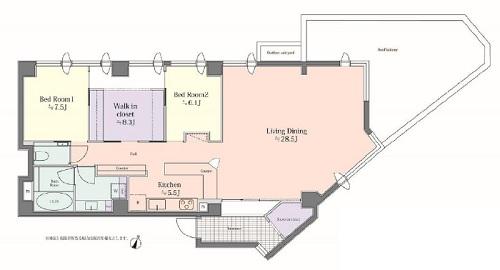 募集中 403号室(2LDK/119.18㎡)15,480万円