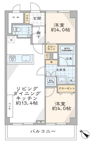 募集中 506号室(2LDK/50.40㎡)5,990万円【PRICE DOWN】