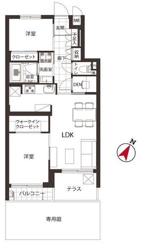募集中 103号室(2SLDK/51.27㎡)5,480万円