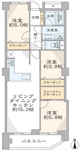 募集中 203号室(3LDK/67.48㎡)7,180万円