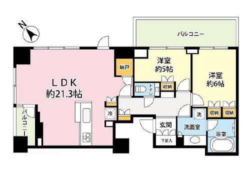 募集中 21F(2LDK/74.89㎡)13,700万円