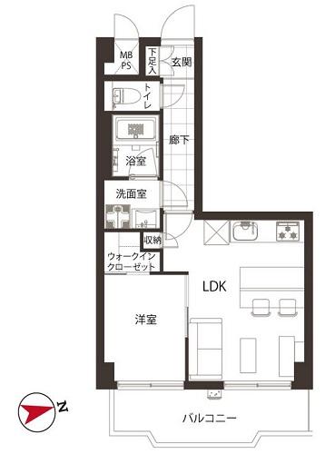 募集中 404号室(1LDK/35.24㎡)2,980万円