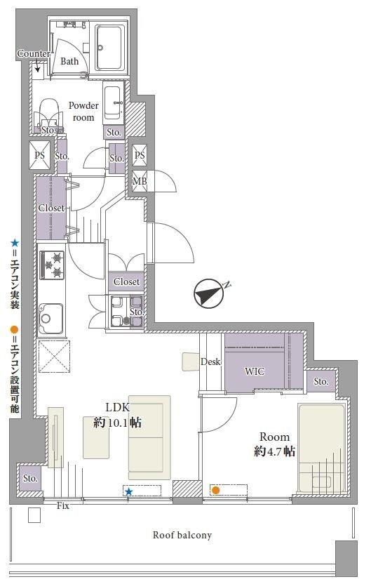 募集中 306号室(1LDK/42.00㎡)3,599万円【PRICE DOWN】