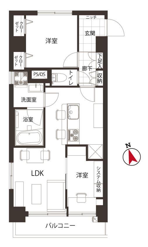 募集中 1001号室(2LDK/43.87㎡)3,980万円【PRICE DOWN】