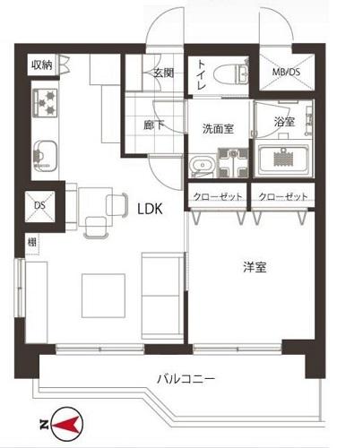 募集中 1108号室(1LDK/39.69㎡)3,980万円