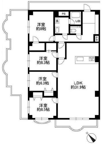 募集中 501号室(4LDK/129.52㎡)11,800万円