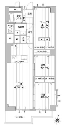 募集中 302号室(2SLDK/79.62㎡)4,880万円【PRICE DOWN】