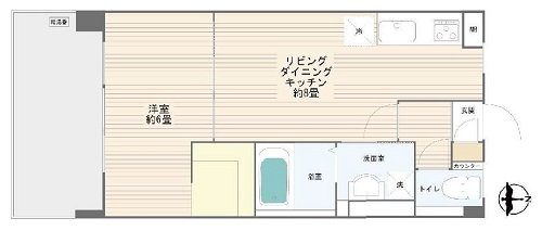 募集中 705号室(1LDK/33.97㎡)2,480万円