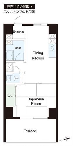 募集中 111号室(スケルトン/33.75㎡)3,480万円