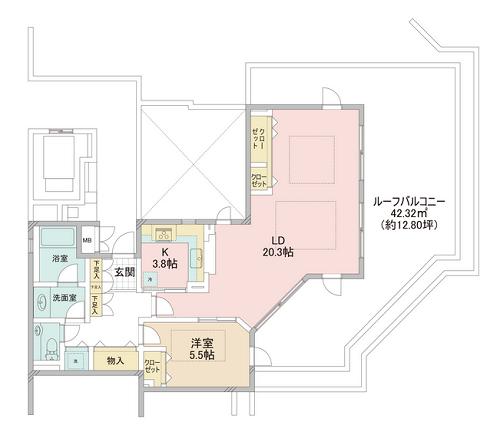 募集中 4F(1LDK/72.67㎡)15,500万円【PRICE DOWN】