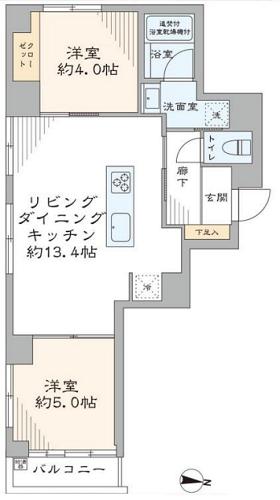 募集中 303号室(2LDK/49.91㎡)6,280万円