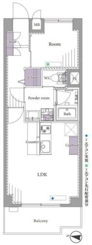 募集中 622号室(1LDK/39.40㎡)3,999万円