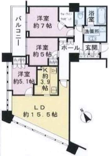 募集中 14F(3LDK/86.42㎡)19,900万円