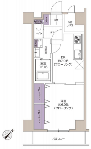 募集中 205号室(1DK/34.36㎡)2,990万円【PRICE DOWN】