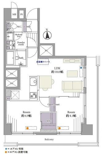 募集中 207号室(2LDK/47.30㎡)3,199万円