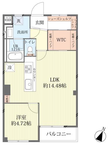募集中 402号室(1LDK/50.22㎡)4,980万円