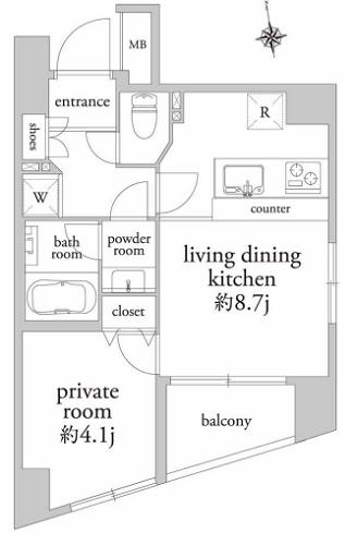 募集中 202号室(1LDK/33.42㎡)5,500万円