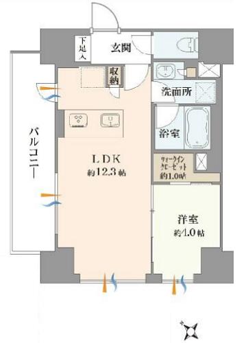 募集中 301号室(1LDK/40.29㎡)7,880万円【PRICE DOWN】