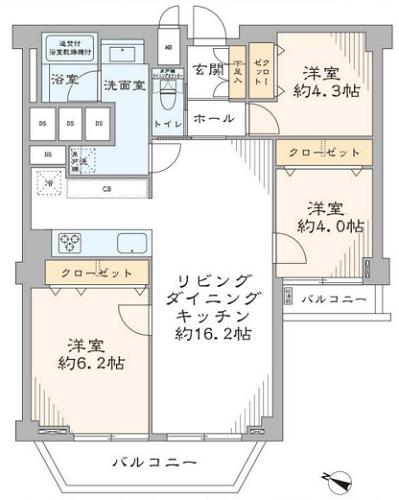 募集中 502号室(3LDK/70.52㎡)4,780万円