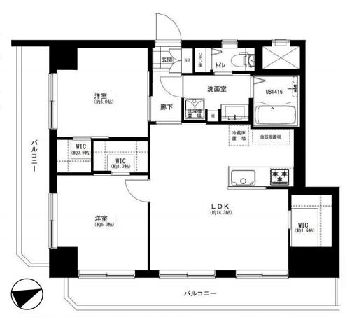 募集中 303号室(2LDK/65.16㎡)7,299万円【PRICE DOWN】